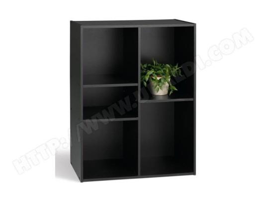 Compo Meuble De Rangement Noir.Compo Meuble De Rangement 5 Cases Noir L 61 Cm Aucune Ma