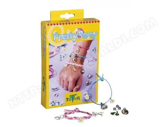 BJ29538 Totum Kit Cr/éatif Bracelets Cheval Pretty Pony