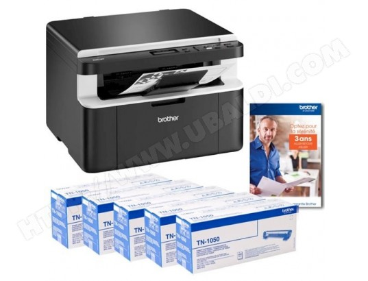 Brother DCP-1612WVB All In Box- Multifonctions Laser N/B + 5 toners BROTHER MA-41CA54_BROT-X7S44
