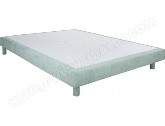 Sommier 140 x 200 UB DESIGN Chatel Light 140x200cm Bronx water green