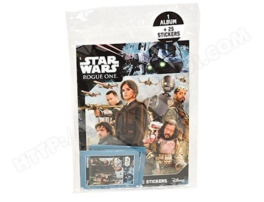 TOPPS - SW36 - STAR WARS ROGUE ONE - ALBUM + AUTOCOLLANTS TOPPS MA-31CA388TOPP-9XKSV
