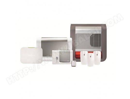 diagral pack alarme maison sans fil connect e compatible. Black Bedroom Furniture Sets. Home Design Ideas