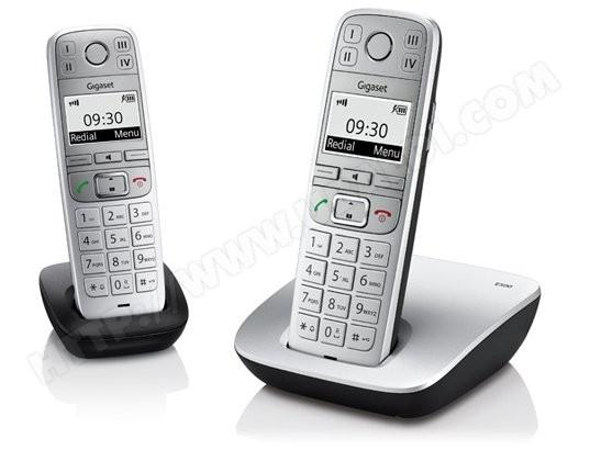 avis t l phone sans fil siemens gigaset e500 duo test critique et note. Black Bedroom Furniture Sets. Home Design Ideas