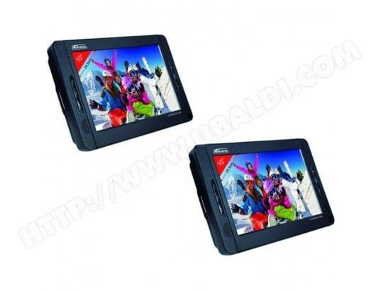 takara vrt210 lecteur dvd portable double cran ecran 10. Black Bedroom Furniture Sets. Home Design Ideas