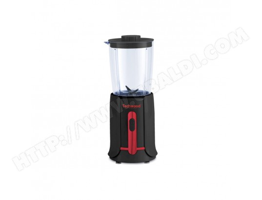 MINI BLENDER 500 ML NOIR/ROUGE TECHWOOD - TBL-205 TECHWOOD MA-34CA103MINI-YC3XI