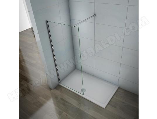 Paroi de douche 70x200cm douche /à litalienne avec barre de fixation 90 cm
