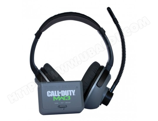 Casque micro PS3 TURTLE BEACH Ear Force PX21 Call of Duty