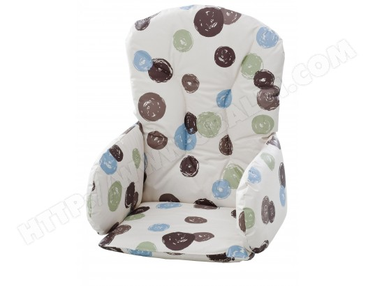 coussin chaise haute geuther reducteur siege 4733 pois pas cher. Black Bedroom Furniture Sets. Home Design Ideas