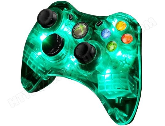 manette xbox 360 pdp afterglow manette filaire ax 1 xbox. Black Bedroom Furniture Sets. Home Design Ideas