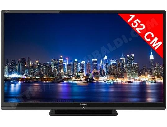 c56a5698e5e25c SHARP LC60LE740E - TV LED Full HD 3D 152 cm - Livraison Gratuite