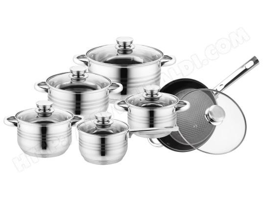 De haute qualité induction marbre Lot de casserole casseroles Casserole 16 pièces