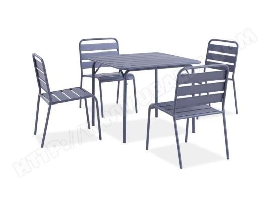 Salon De Jardin Ensemble Table Chaise Fauteuil De Jardin