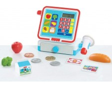 JP Other- Fisher Price Cash Register Set Jouet, JPL93515, Multicolore FISHER PRICE MA-67CA387JPOT-Q5J75