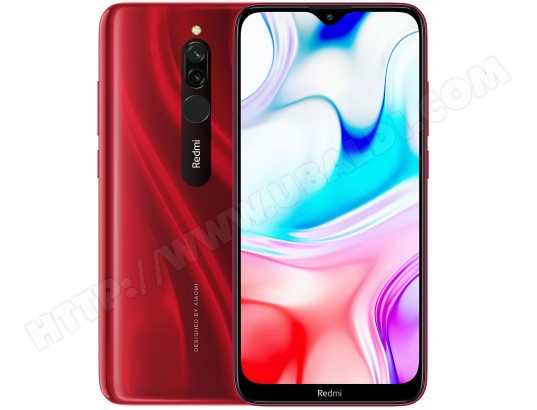 Smartphone XIAOMI Redmi 8 EU 3+32 Ruby Red