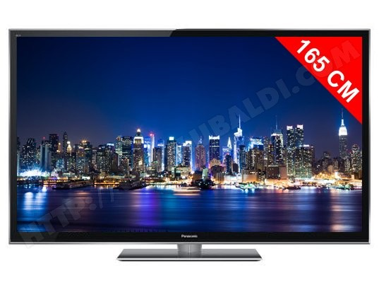 TV plasma Full HD 3D 165 cm PANASONIC Viera TX-P65VT50E