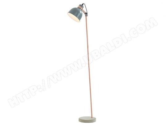 vente unique lampadaire style vintage luxia beton et fer h 160 cm gris ma 82ca356lamp d3no4