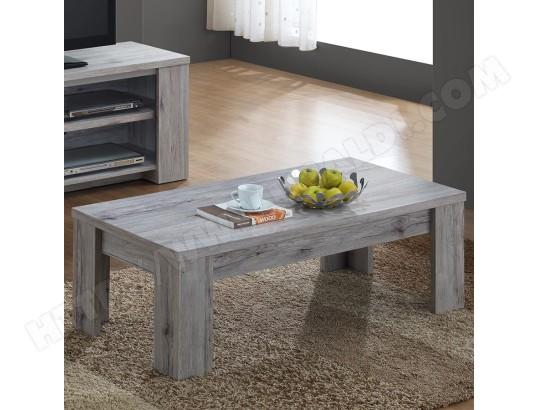 Table De Salon 120 Cm Contemporaine Couleur Chene Elijah