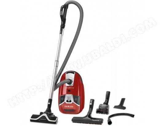 Aspirateur Compact Avec sac 3,5L Rouge A+AAA 67dB 21kw/an 550w Rayon d'action 11m ROWENTA MA-25CA110ASPI-1234W