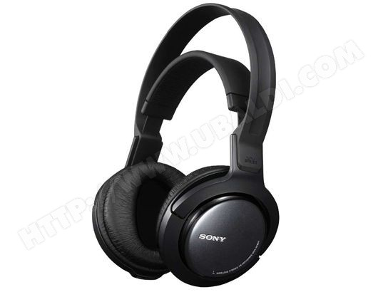 sony mdr rf860rk casque sans fil livraison gratuite. Black Bedroom Furniture Sets. Home Design Ideas