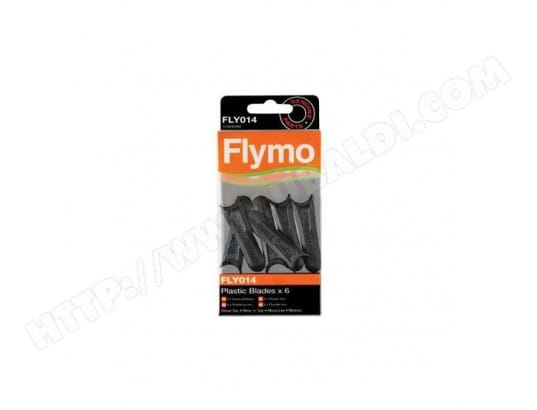 FLYMO - Lames en plastique FLY014 pour tondeuse Micro Lite FLYMO MA-10CA225FLYM-XJUFS