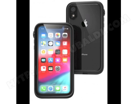 Protection Renforcée Etanche Compatible iPhone XR - Catalyst - Noir CATALYST MA-14CA500PROT-FXUOY