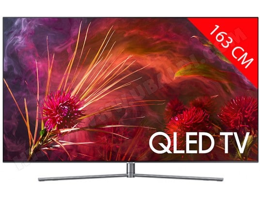 TV QLED 4K 163 cm SAMSUNG QE65Q8F 2018, Ecran Quantum Dot, Smart TV