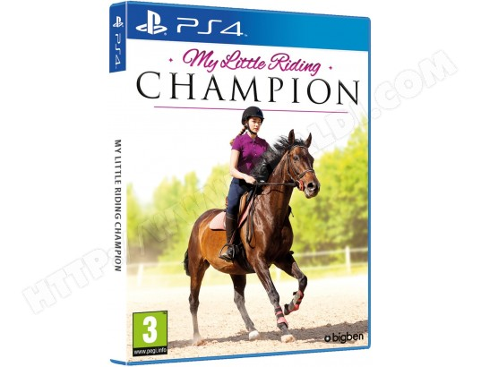 Ps4 - My Little Riding Champion BIGBEN MA-48CA460PS4--E9R3J