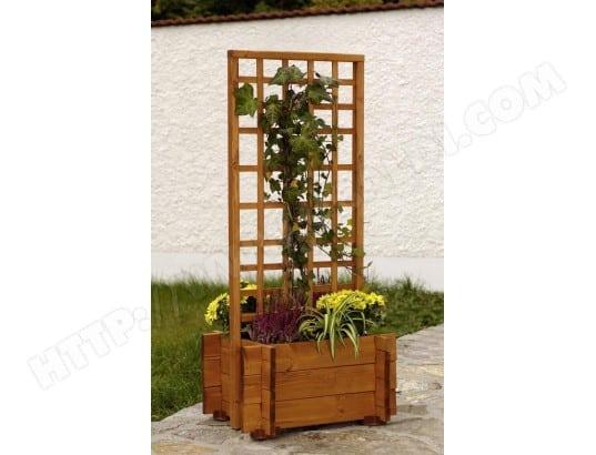 gaspo jardini re avec treillis hofgarden l 55 x l 46 cm. Black Bedroom Furniture Sets. Home Design Ideas
