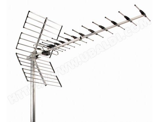 Wisi EZ45LTE antenne TV - antennes TV (UHF, DVB-T, TNT) WISI  MA-29CA45_WISI-ULGWC pas cher