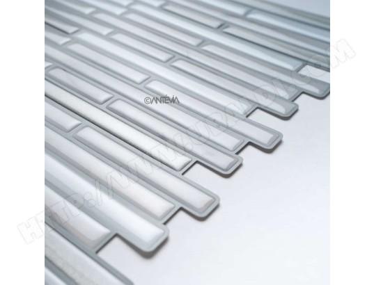 Carrelage Mosaique Adhesif Lot De 6 Plaques Modele Blanc 01 Pr Antevia Materiaux 631 Pas Cher Ubaldi Com