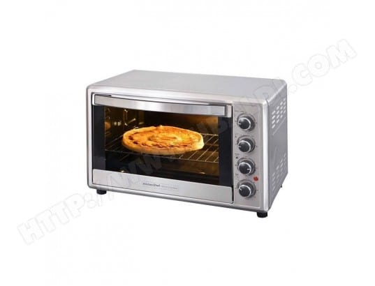 KITCHENCHEF FOUR MULTIFONCTION 42L 2000W MIN 120MN PANIER FRITES TB CORPS INOX BRO KITCHEN CHEF MA-16CA83_KITC-0N2SC