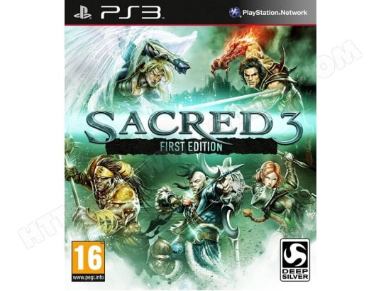 Sacred 3 [First Edition] [PS3] DEEP SILVER MA-24CA334SACR-YXLQM