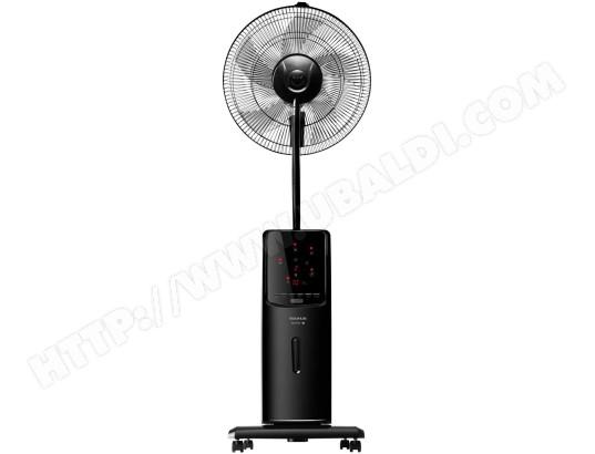 Détails sur ventilateur brumisateur 90w noir et blanc taurus alpatec