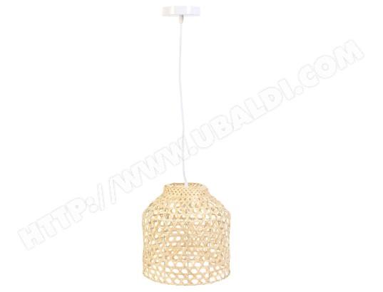 THE HOME DECO FACTORY Suspension luminaire en bambou scandi h. 178 cm beige MA 23CA356SUSP R22A8
