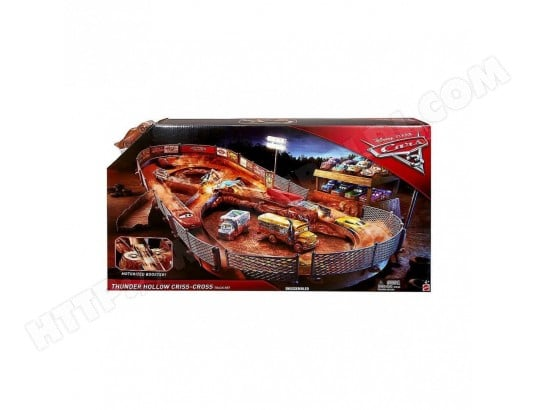 Cars 3 Circuit Thunder Hollow MATTEL MA-63CA380CARS-XWIM2