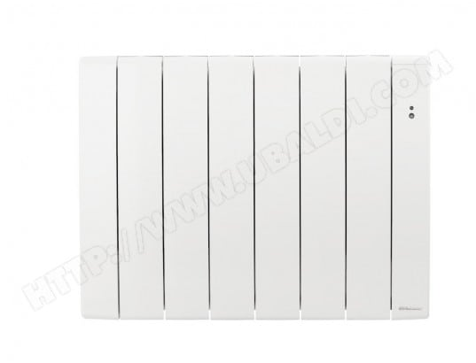 radiateur lectrique connect inertie bilbao 3 blanc 1000w thermor ma 31ca91 radi wwoiw pas. Black Bedroom Furniture Sets. Home Design Ideas