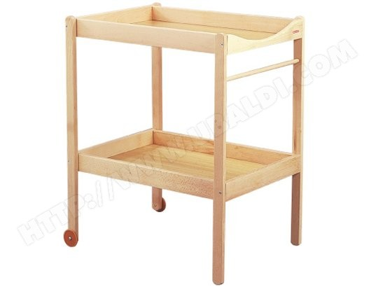 Meuble langer combelle table langer alice naturel pas cher - Meuble table a langer ...