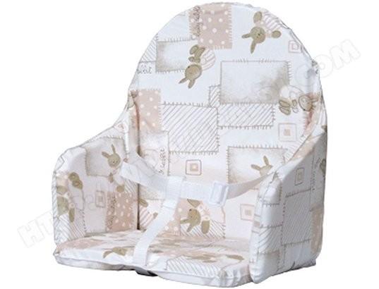 Coussin Chaise Haute COMBELLE De Lapinou 89