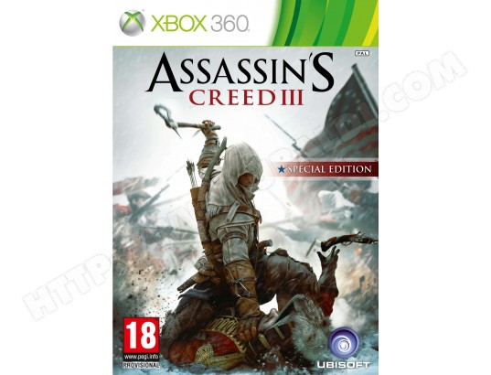 Jeu Xbox 360 UBISOFT Assassin's Creed 3 Special Day-one Xbox 360
