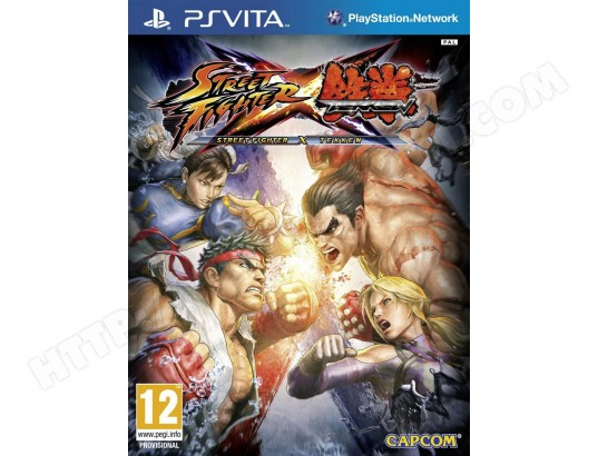 Jeu PS Vita CAPCOM Street Fighter X Tekken Ultimate Edition PS Vita