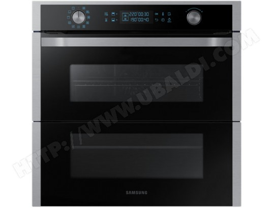 Four encastrable pyrolyse SAMSUNG NV75N7677RS Dual Cook Flex 75L Double Porte Wifi