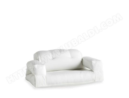 KARUP DESIGN Hippo out canapé de jardin convertible en toile couleur blanc MA 14CA281HIPP QI2EK