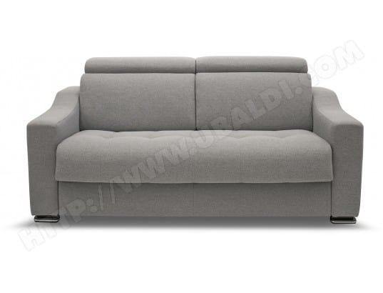 canap lit alterego divani noah 3 pl mira col 31matelas 140 40kg m3 pas cher
