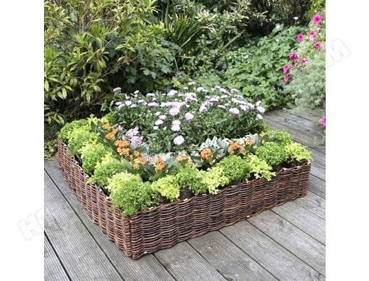 Jardini re d corative acd ma 39ca450jard snm18 pas cher for Jardiniere decorative