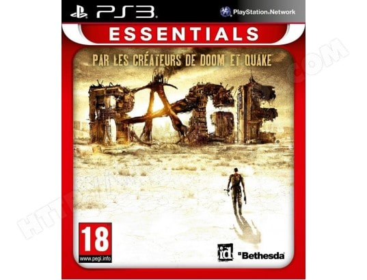 RAGE [ESSENTIALS] [SONY PS3] BETHESDA MA-24CA334RAGE-73PSG