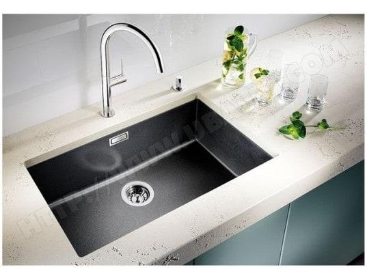 blanco 518573 pas cher evier granit silgranit blanco. Black Bedroom Furniture Sets. Home Design Ideas