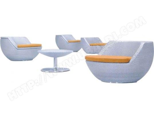 Salon boule empilable avec coussins AUBRY GASPARD MA-21CA281SALO ...
