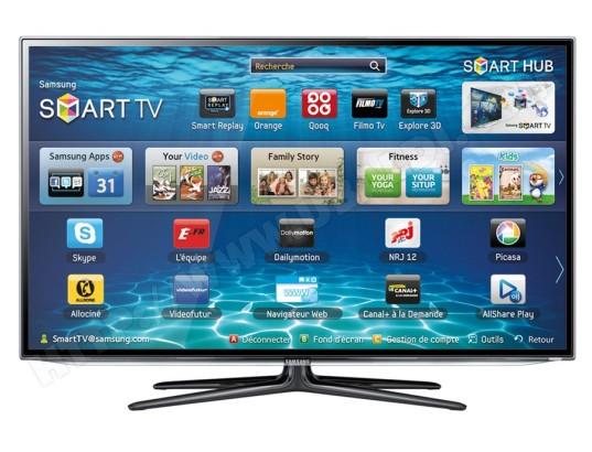 aaaeebfcefb89 SAMSUNG UE40ES6100 - TV LED Full HD 3D 102 cm - Livraison Gratuite