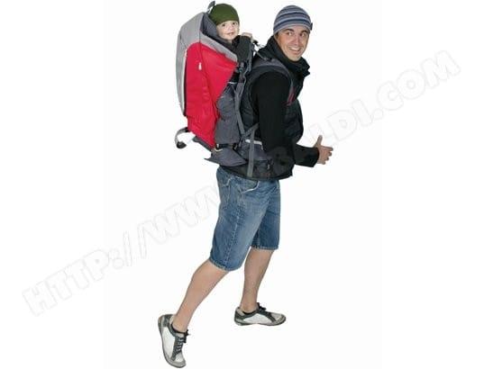 Porte bébé dorsal PHIL   TEDS ESCAPE rouge Pas Cher   UBALDI.com dccdc036ca5