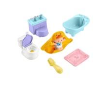 Fisher-price little people babies l'heure du bain et du pot - gkp66 - figurine pour bébé - de 18 mois a 5 ans FISHER PRICE MA-67CA310FISH-H7K7Y